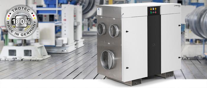 Промышленные осушители воздуха Trotec TTR 2000