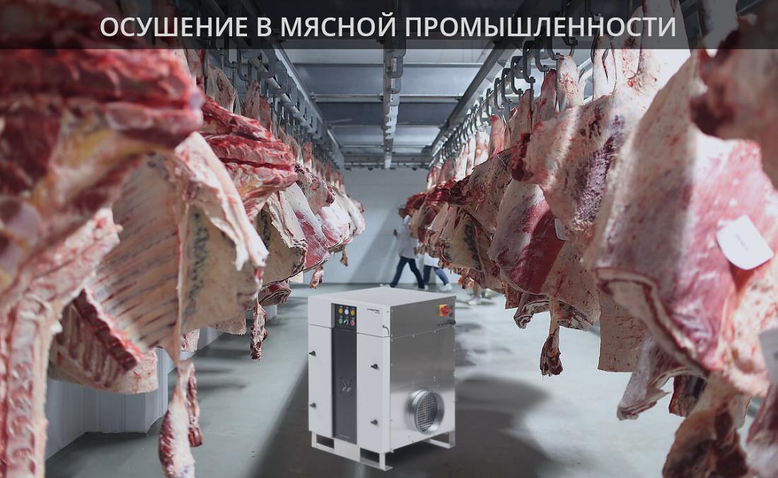 Осушення на виробництві м'яса